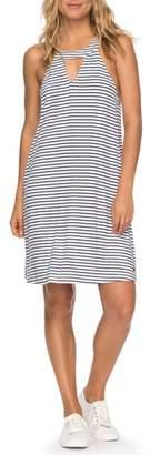Roxy Print Halter Dress