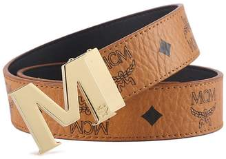 MCM yuxiaoxiao8888 embossed explosive belt youth belt gold buckle