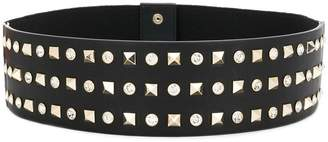 Liu Jo pyramid and crystal stud belt