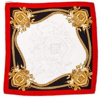 Givenchy Print Silk Scarf