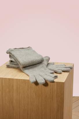 Rick Owens Alpaca long gloves