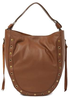 Lucky Brand Tuli Leather Hobo Shoulder Bag