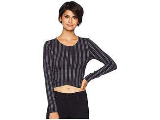 RVCA Woodland Long Sleeve Shirt Women's Clothing