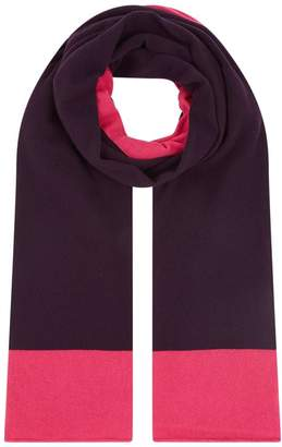 Harrods Cashmere Two-Tone Scarf