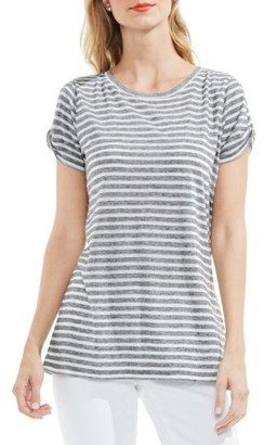 Women's Two By Vince Camuto Twist Keyhole Sleeve Tee $69 thestylecure.com