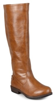 Journee Collection Lynn Wide Calf Riding Boot