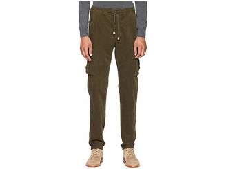 Eleventy Cord Cargo Jogger Pants