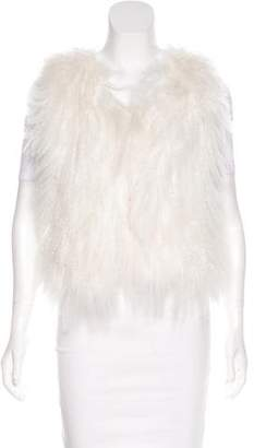 IRO Textured Shearling Vest w/ Tags