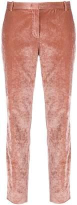 Fabiana Filippi slim-fit velvet corduroy trousers
