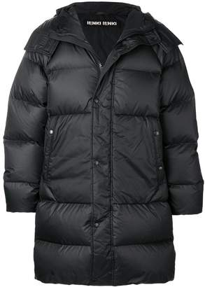 Ienki Ienki hooded padded coat