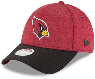 New Era Women's Arizona Cardinals On Field Sideline Home 9FORTY Strapback Cap