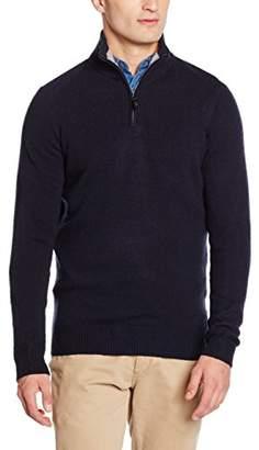 Ben Sherman Men's Half Zip Funnel Sweatshirt
