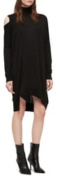 AllSaints Cecily Turtleneck Sweater Dress