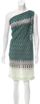 Missoni One-Shoulder Knit Dress