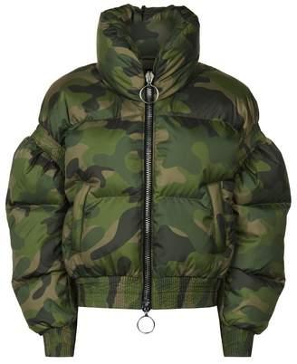 Ienki Ienki Poodle Camouflage Puffer Jacket