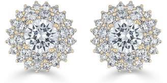 Thomas Laine Karolyne Classic Round Cluster Earrings