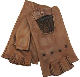 Portolano Nappa Fingerless Driving Gloves
