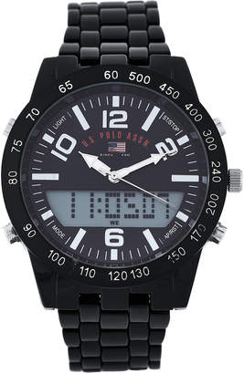 U.S. Polo Assn. US8656JC Black Analog-Digital Watch