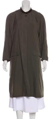 Billy Reid Button-Up Long Coat