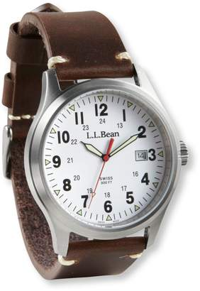 Men's Vintage Field Watch, 42mm Leather