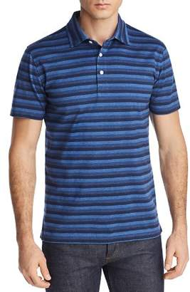 Brooks Brothers Striped Jersey Slim Fit Polo Shirt