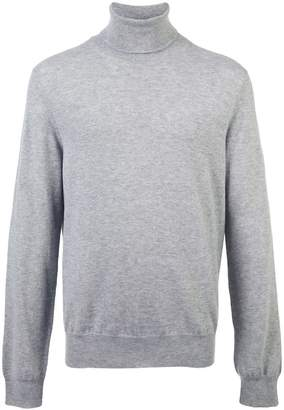 Maison Margiela elbow patch turtleneck jumper