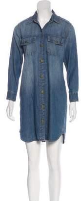 Current/Elliott The Perfect Shirtdress Denim Dress