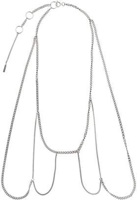 Justine Clenquet multi-chain necklace