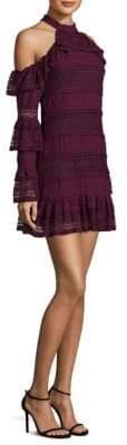 Parker Windham Cold-Shoulder Dress