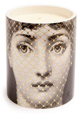 Fornasetti Golden Burlesque Large Scented Candle - Black Gold
