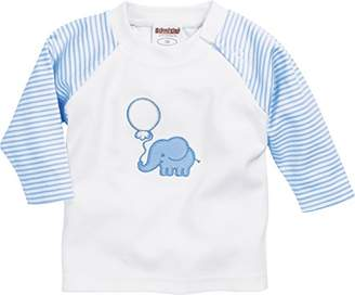 Playshoes Baby Langarmshirt Elefant Sweatshirt,(Size: 80)