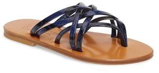 K Jacques St Tropez Strappy Thong Sandal (Women)