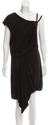 Helmut Lang Short Sleeve Midi Dress