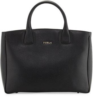 Furla Camilla Medium Leather Tote Bag, Onyx $280 thestylecure.com