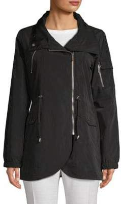 French Connection Asymmetrical Zip Front Jacket