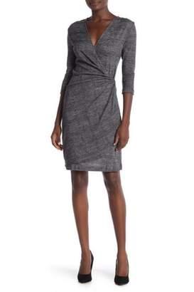Amelia Grey Plaid Dress