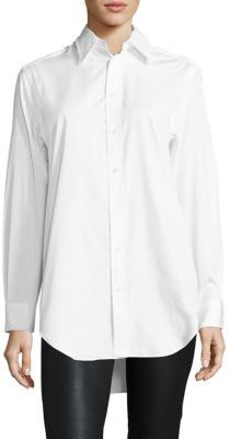 Polo Ralph Lauren Cotton Broadcloth Shirt $125 thestylecure.com