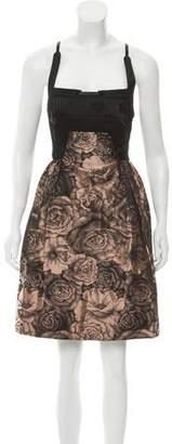 Hussein Chalayan Brocade Mini Dress