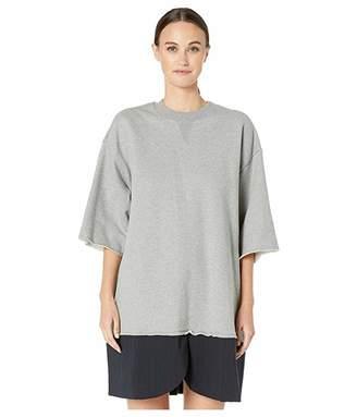 MM6 MAISON MARGIELA Split Hem Sweatshirt Dress