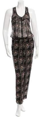 Etoile Isabel Marant Silk Printed Jumpsuit w/ Tags