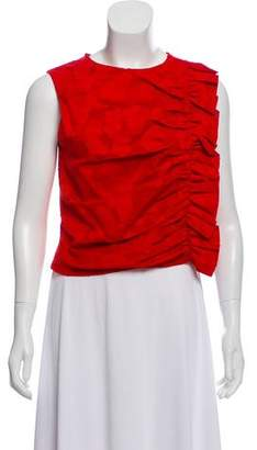 Mother of Pearl Textured Sleeveless Top
