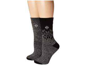 Columbia Midweight Snowflake Thermal 2-Pack