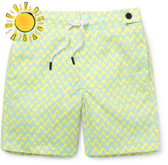 Frescobol Carioca - Boys Ages 2 - 8 Copacabana Printed Swim Shorts