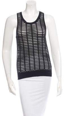 Giada Forte Sheer Knit Top w/ Tags