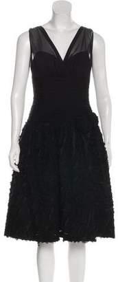 Teri Jon Ricki Freeman x Silk Evening Dress