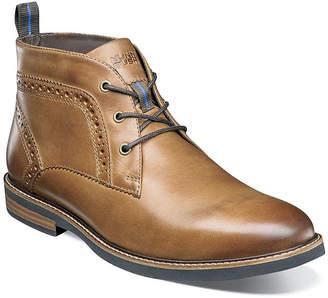Nunn Bush Mens Ozark Chukka Boots Flat Heel Lace-up