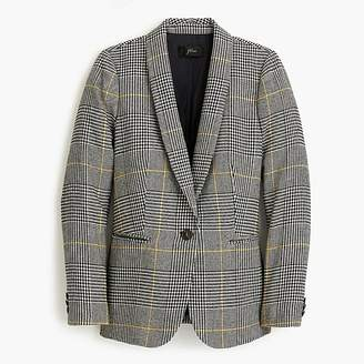 J.Crew Tall Parke blazer in glen plaid