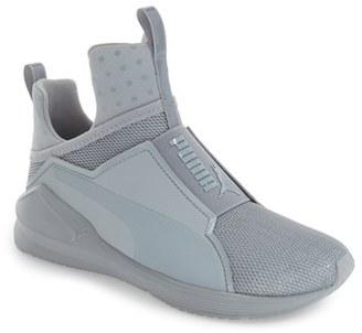 Women's Puma 'Fierce Shine' High Top Sneaker $99.95 thestylecure.com
