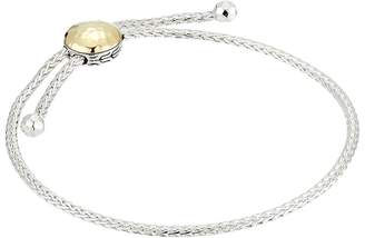 John Hardy Classic Chain Hammered Pull Through Bracelet