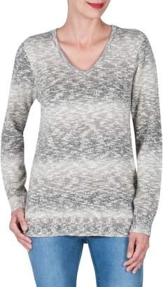 Haggar Wilderness Long Sleeve Ombre Sweater